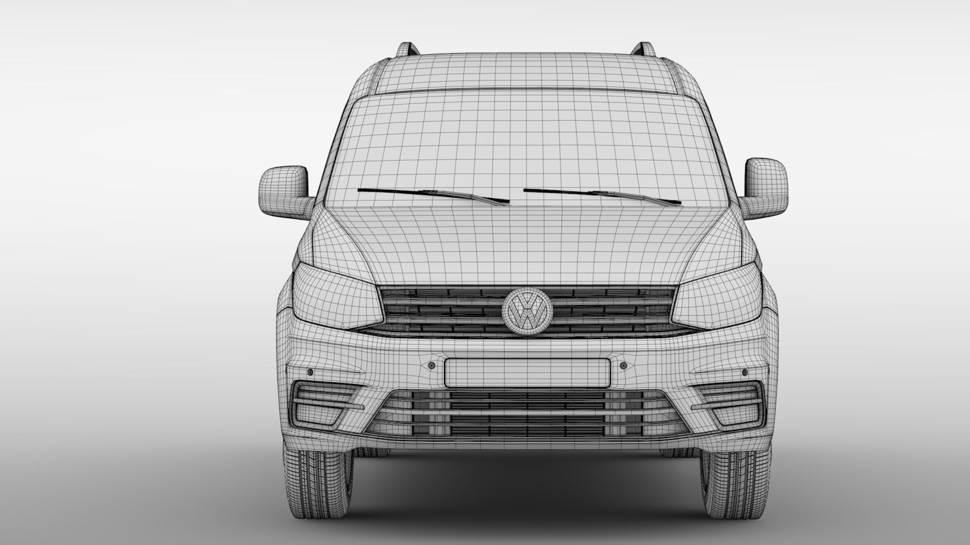 Volkswagen Caddy Maxi Crew Bus 2018