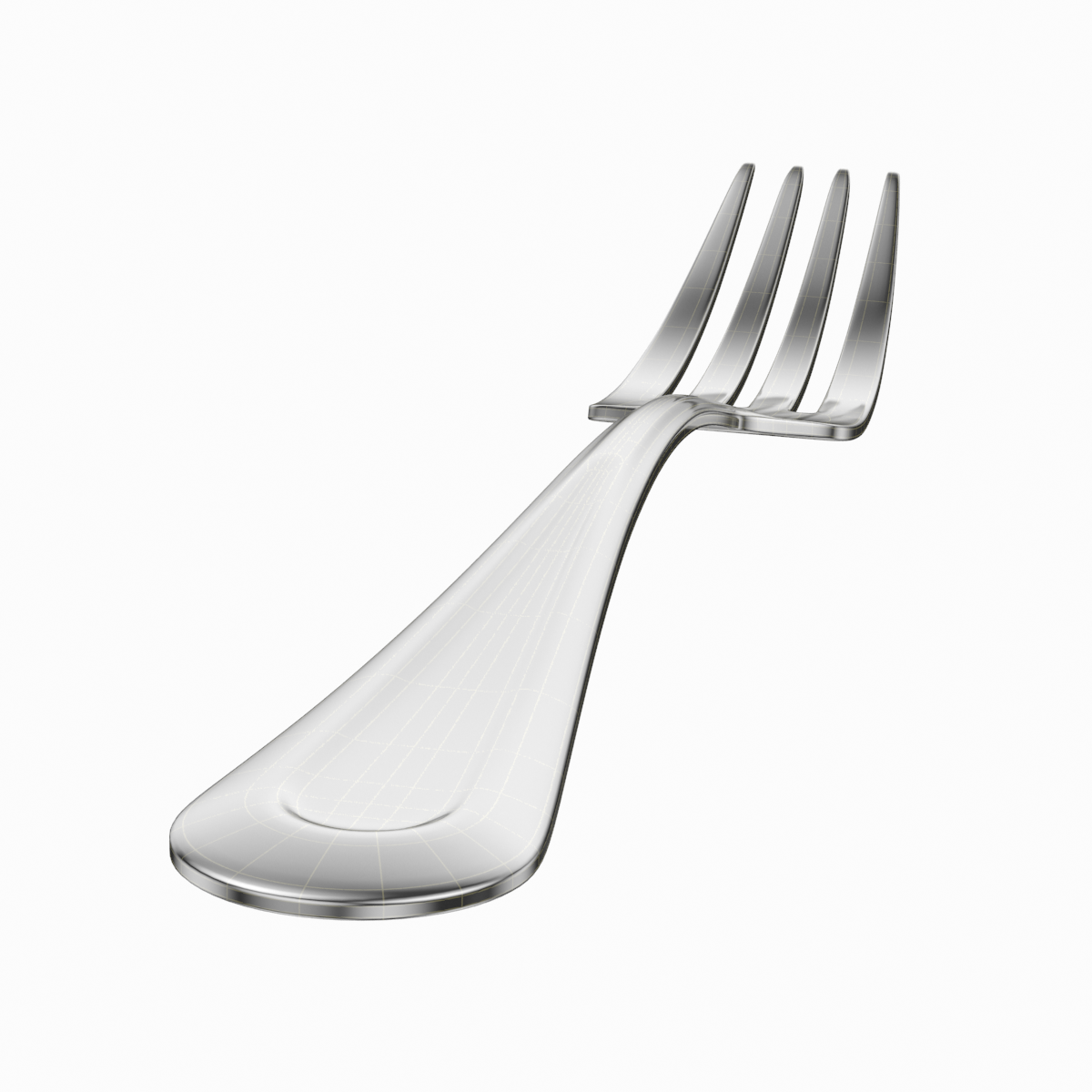 table dinner knife and fork classic cutlery 3d model 3ds max fbx c4d ma mb obj 284050