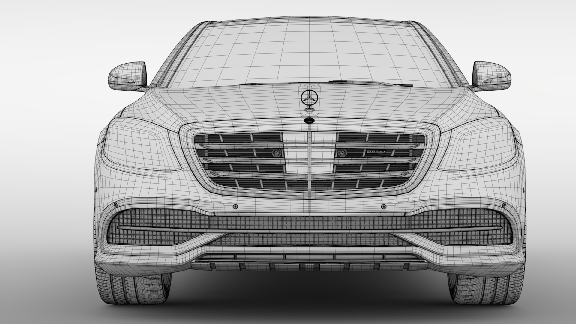 mercedes maybach s 650 x222 2018 3d model 3ds max fbx c4d lwo ma mb hrc xsi obj 284548