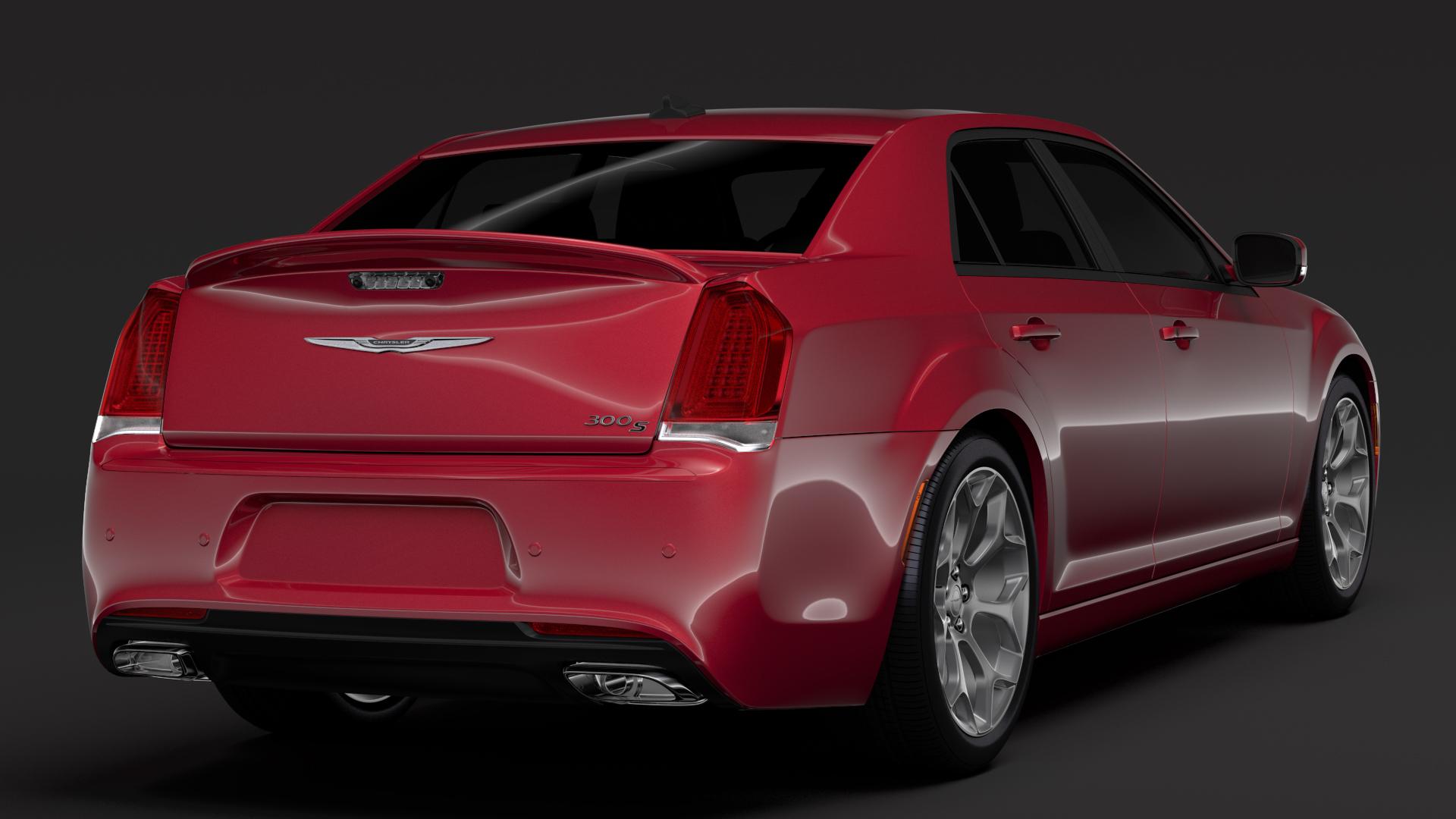 chrysler 300 s sport lx2 2018 3d model 3ds max fbx c4d lwo ma mb hrc xsi obj 284571