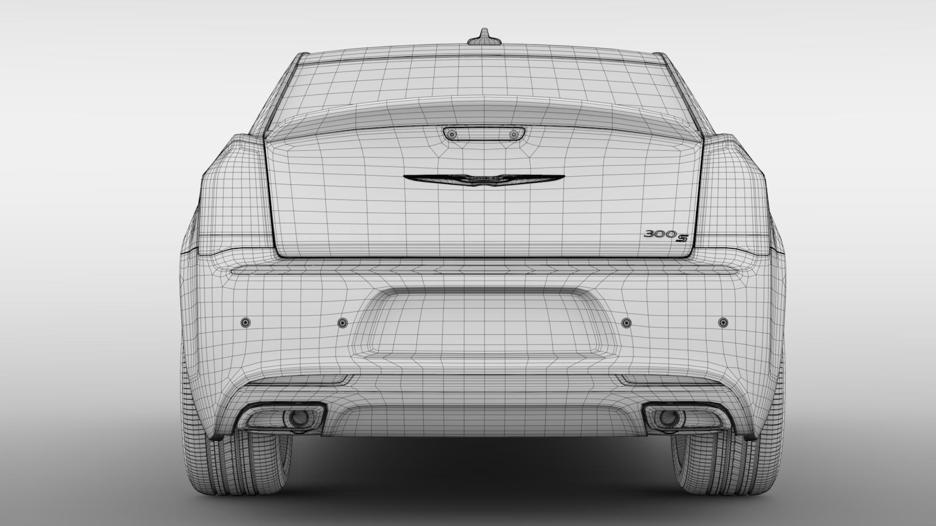 chrysler 300 s sport lx2 2018 3d model 3ds max fbx c4d lwo ma mb hrc xsi obj 284583