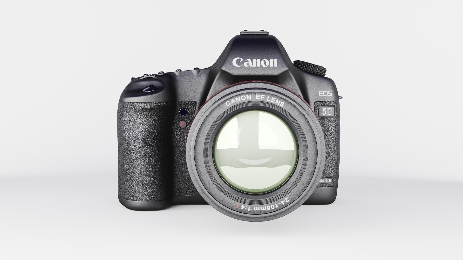 canon eos 5d zīme ii 3d modelis max fbx jpeg jpg cita faktūra obj 285243