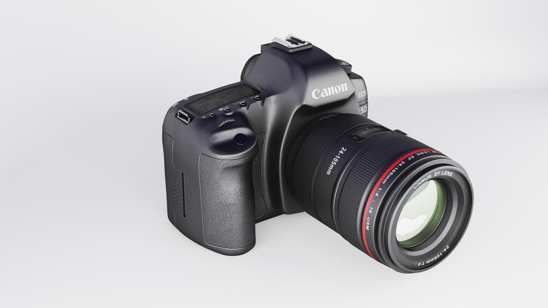canon eos 5d zīme ii 3d modelis max fbx jpeg jpg cita faktūra obj 285246
