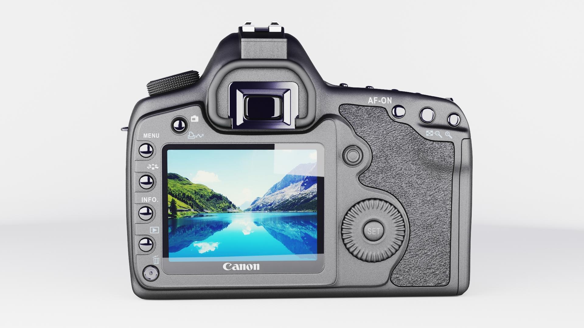 canon eos 5d mark ii 3d model max  fbx jpeg jpg other texture obj 285247