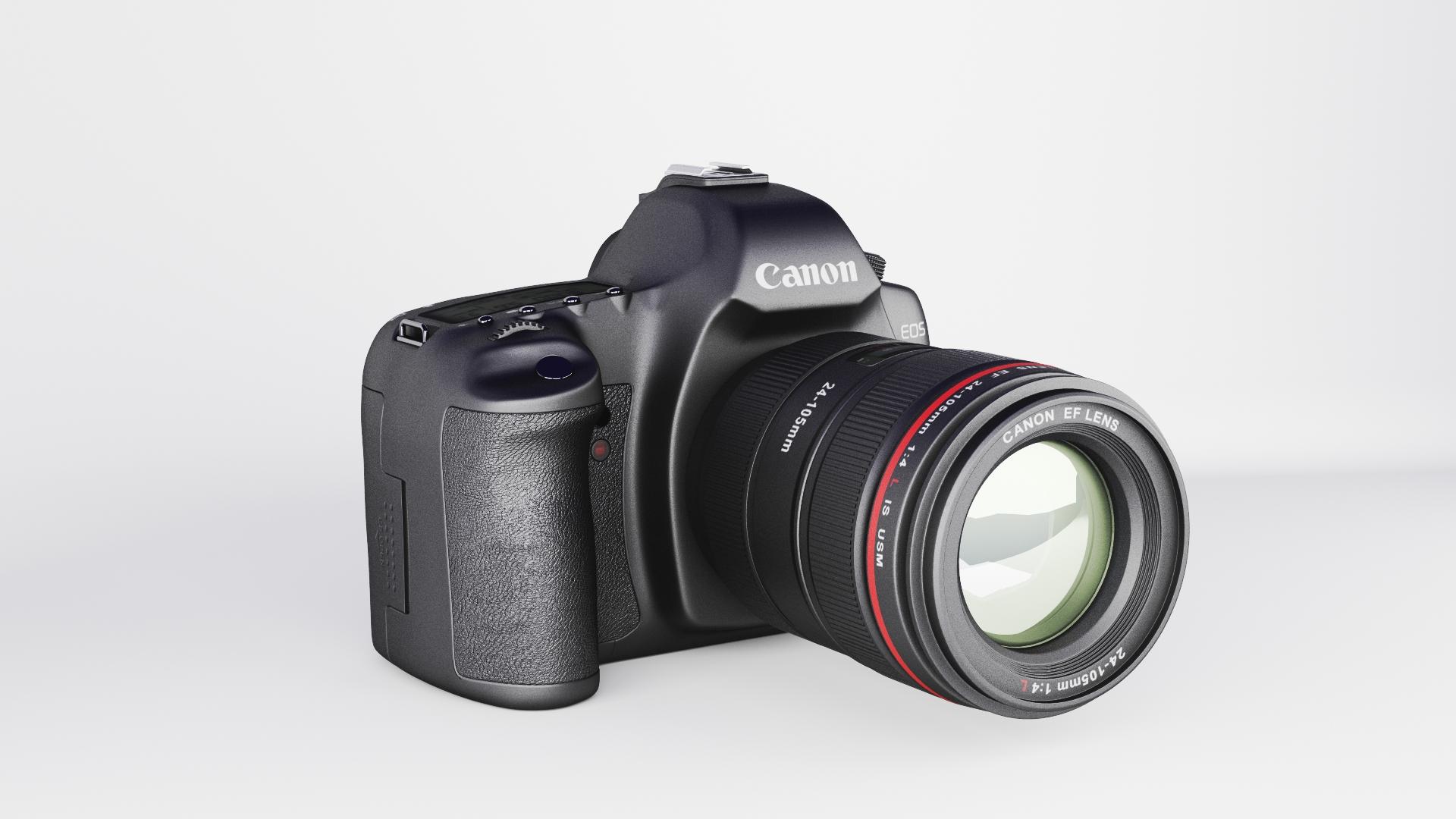 canon eos 5d zīme ii 3d modelis max fbx jpeg jpg cita faktūra obj 285248