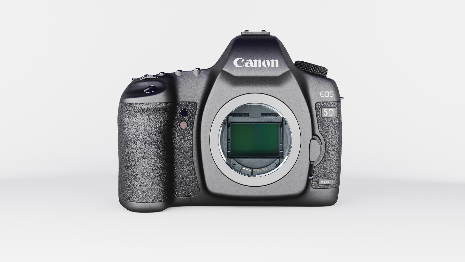 canon eos 5d zīme ii 3d modelis max fbx jpeg jpg cita faktūra obj 285251