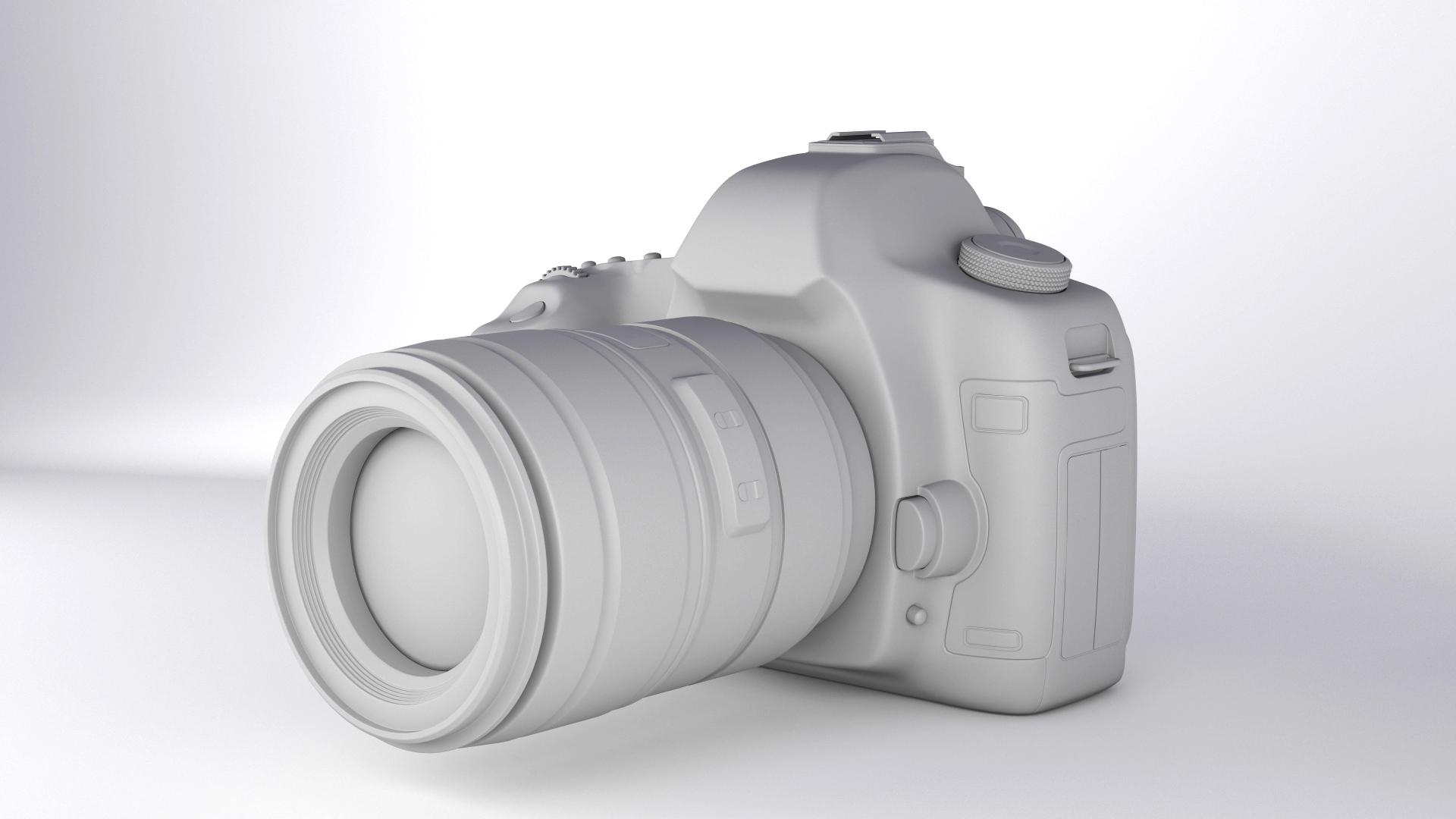 canon eos 5d mark ii 3d model max  fbx jpeg jpg other texture obj 285259