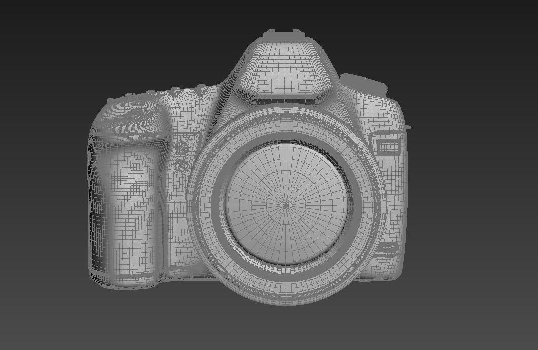 canon eos 5d mark ii 3d model max  fbx jpeg jpg other texture obj 285263