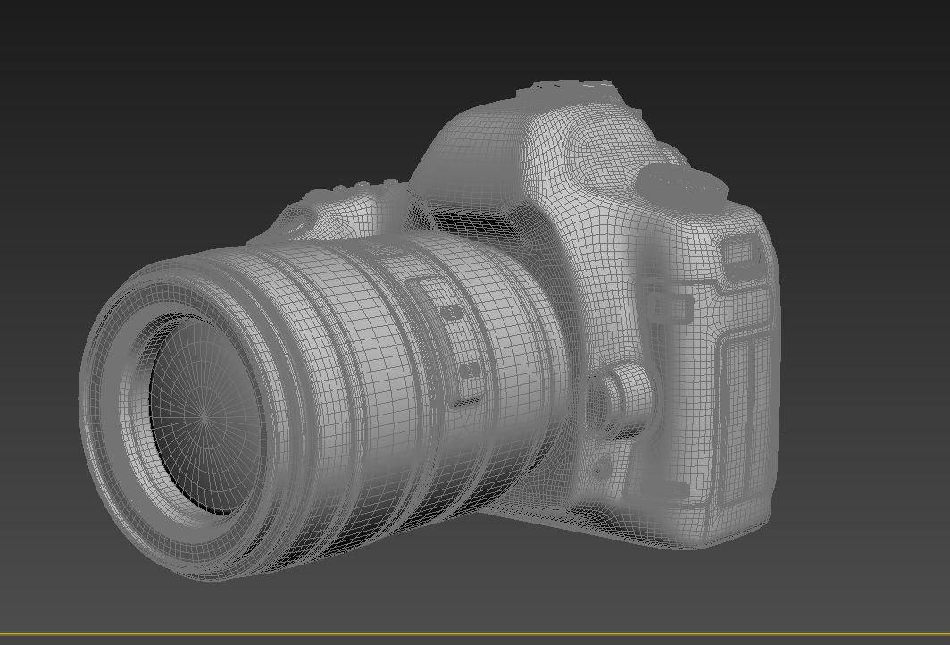 canon eos 5d mark ii 3d model max  fbx jpeg jpg other texture obj 285264