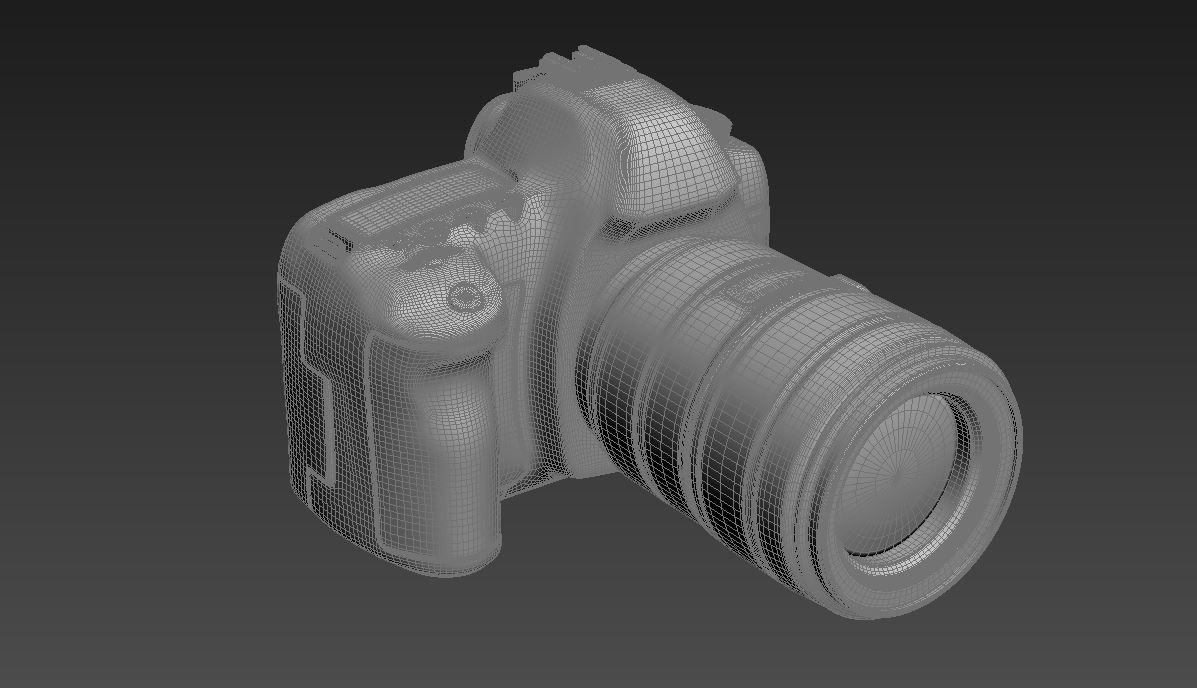 canon eos 5d mark ii 3d model max  fbx jpeg jpg other texture obj 285265