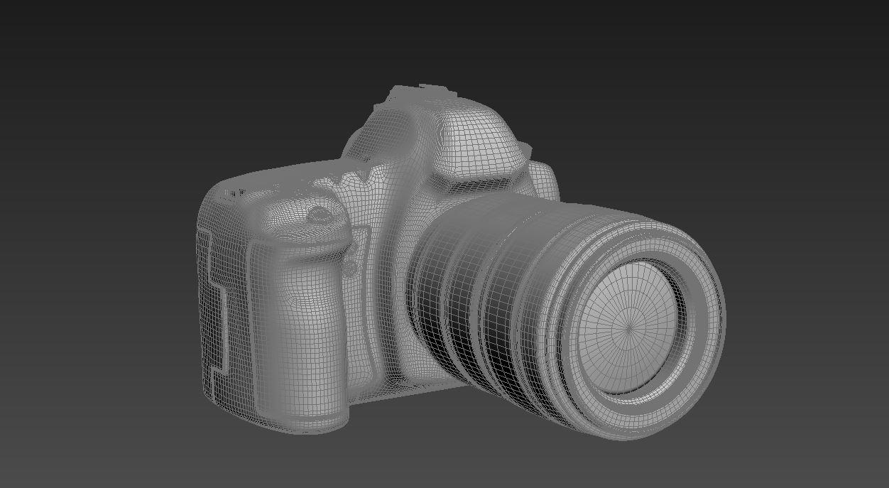 canon eos 5d mark ii 3d model max  fbx jpeg jpg other texture obj 285266