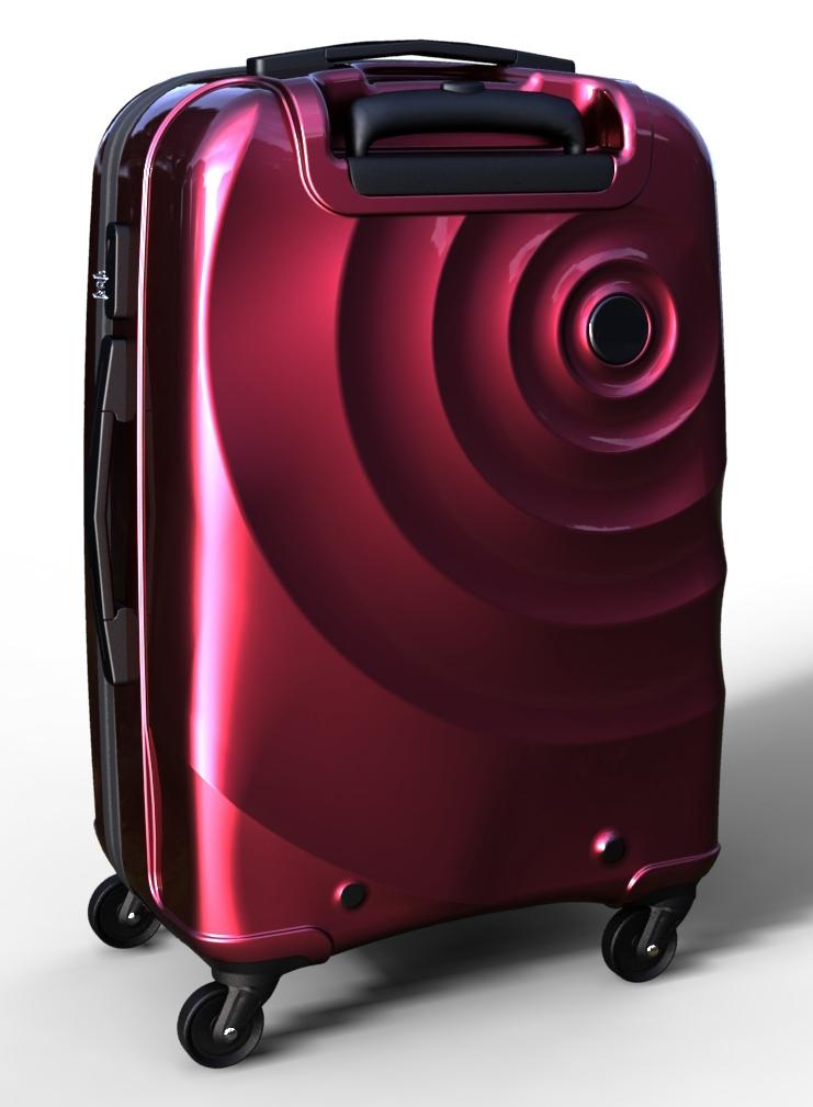 trolley suitcase bag 3d model max  fbx ma mb texture obj 285278
