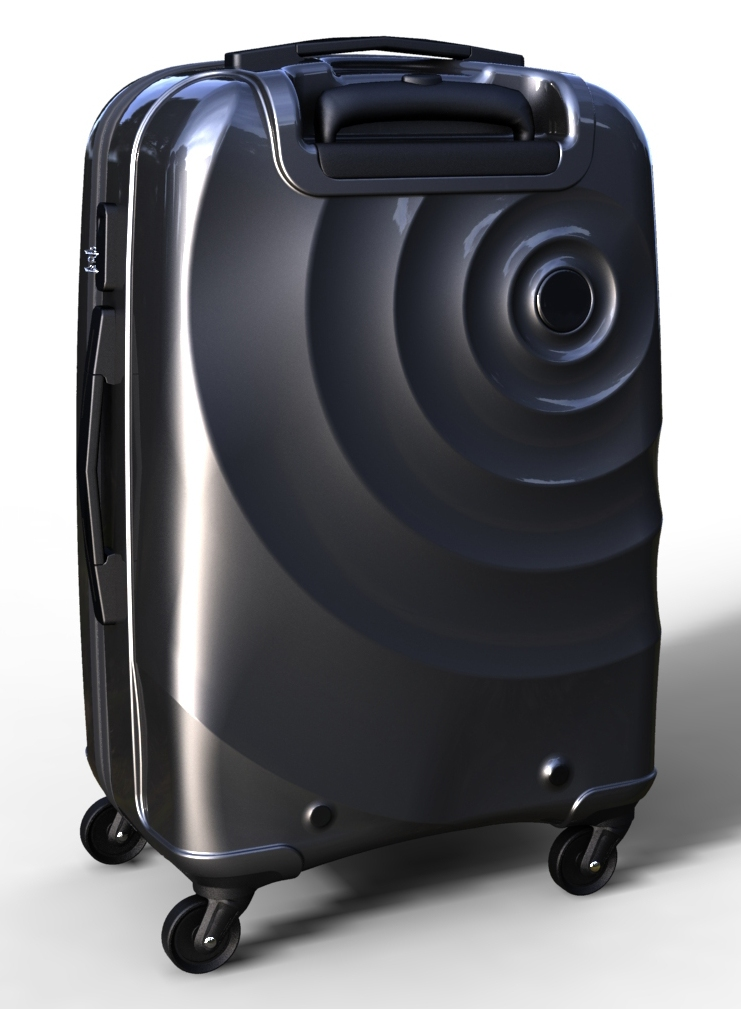 trolley suitcase bag 3d model max  fbx ma mb texture obj 285282