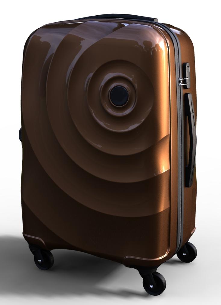 trolley suitcase bag 3d model max  fbx ma mb texture obj 285289