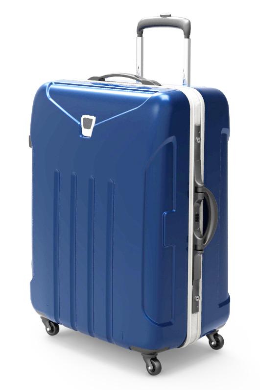 trolley suitcase frame 3d model max fbx ma mb obj 285301