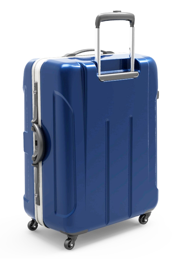 trolley suitcase frame 3d model max fbx ma mb obj 285302