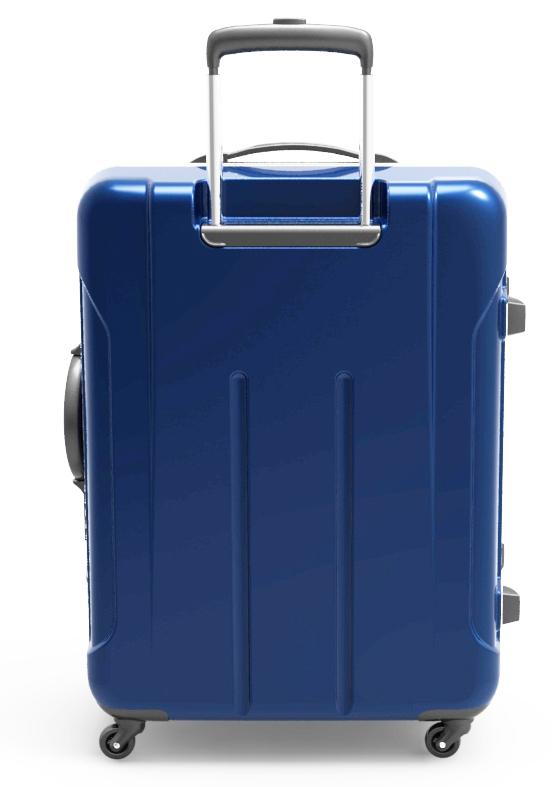 trolley suitcase frame 3d model max fbx ma mb obj 285303