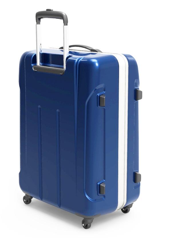 trolley suitcase frame 3d model max fbx ma mb obj 285304