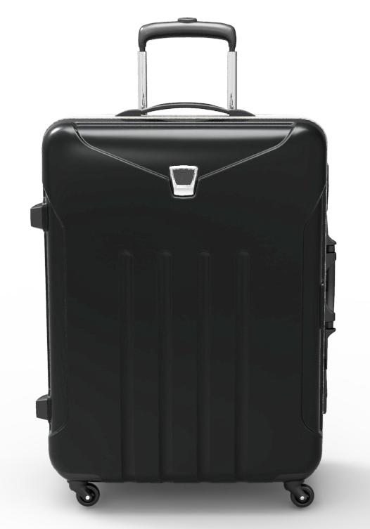 trolley suitcase frame 3d model max fbx ma mb obj 285310
