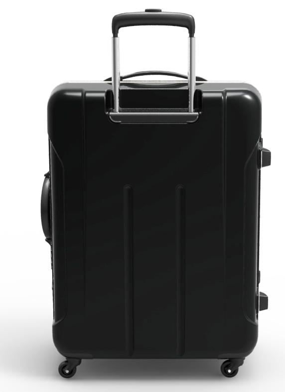 trolley suitcase frame 3d model max fbx ma mb obj 285313