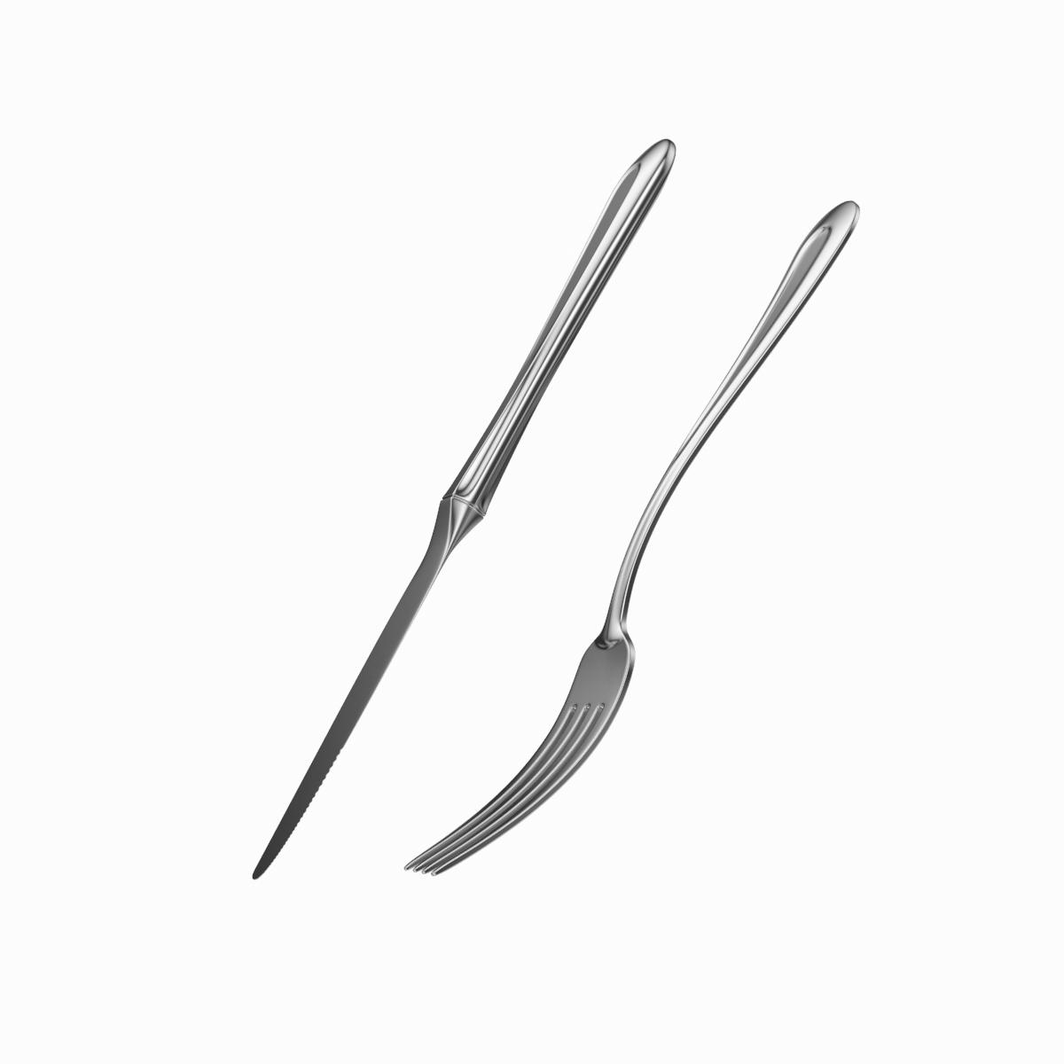 dessert knife and fork classic cutlery 3d model 3ds c4d fbx max max ma mb obj txt png stl 285941
