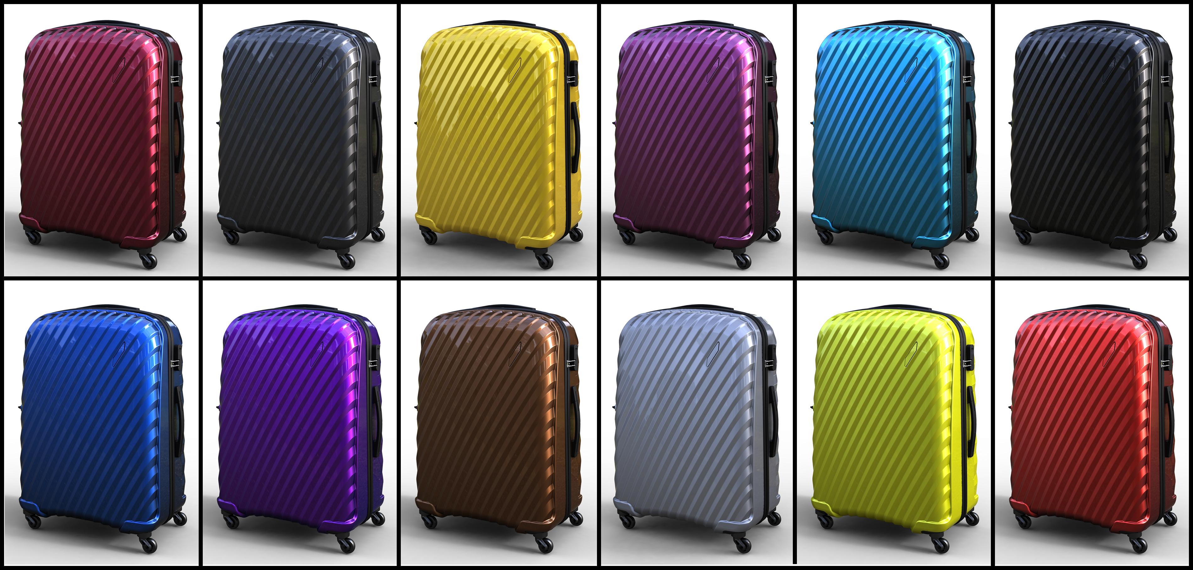 Trolley Suitcase Bag 03 3d model max fbx ma mb obj 285994