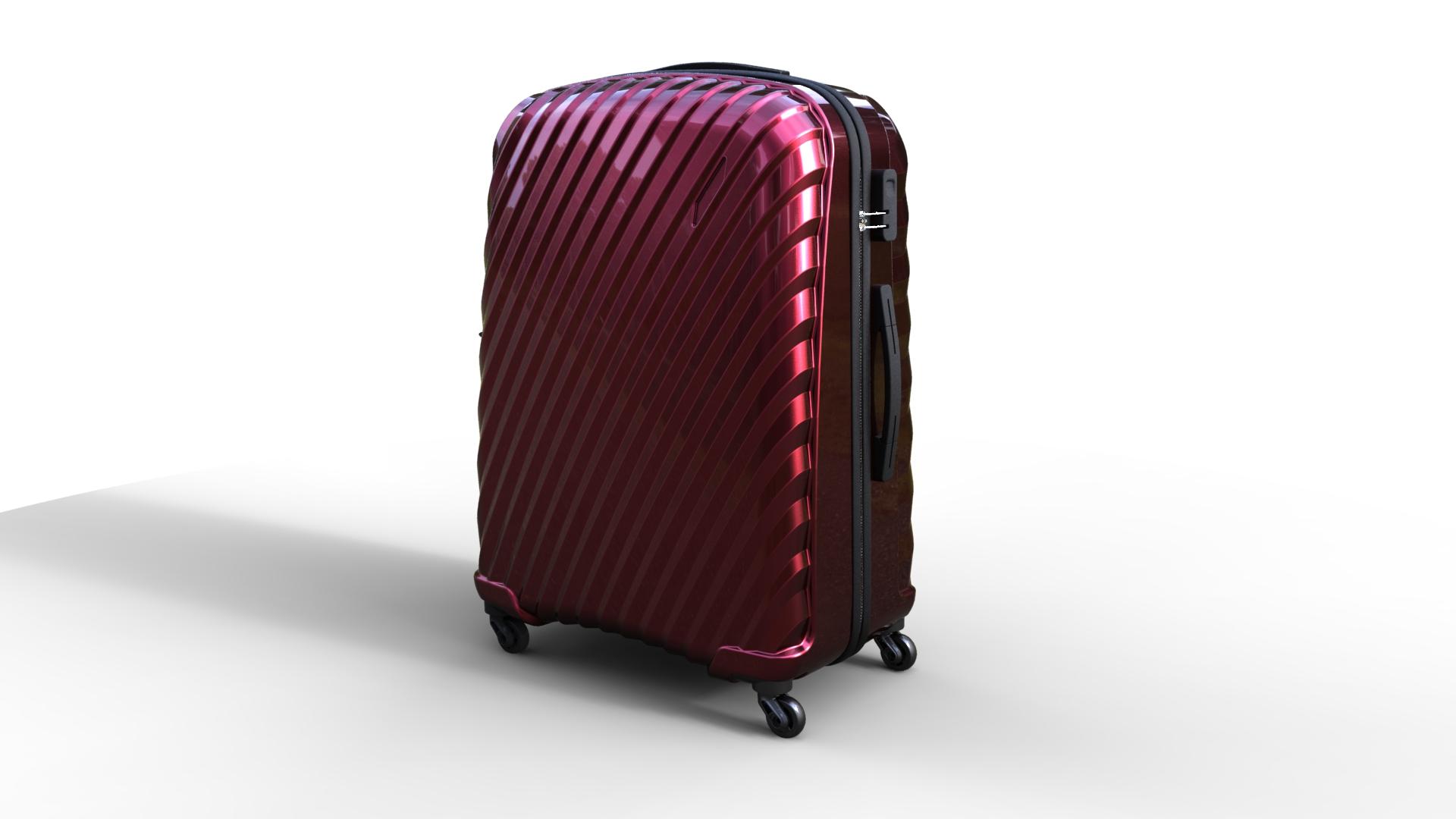 trolley suitcase bag 03 3d model max fbx ma mb obj 285996
