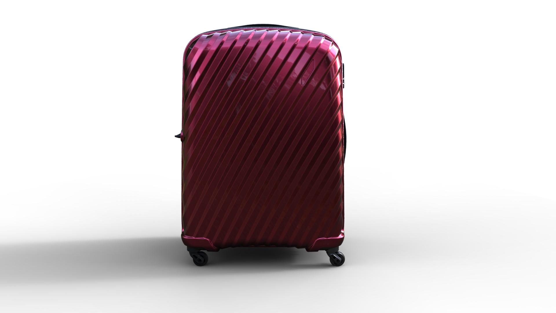trolley suitcase bag 03 3d model max fbx ma mb obj 285997