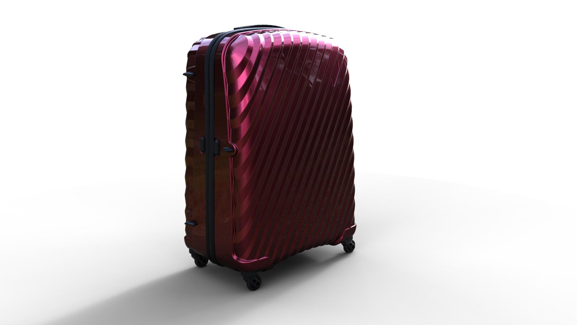 trolley suitcase bag 03 3d model max fbx ma mb obj 285998