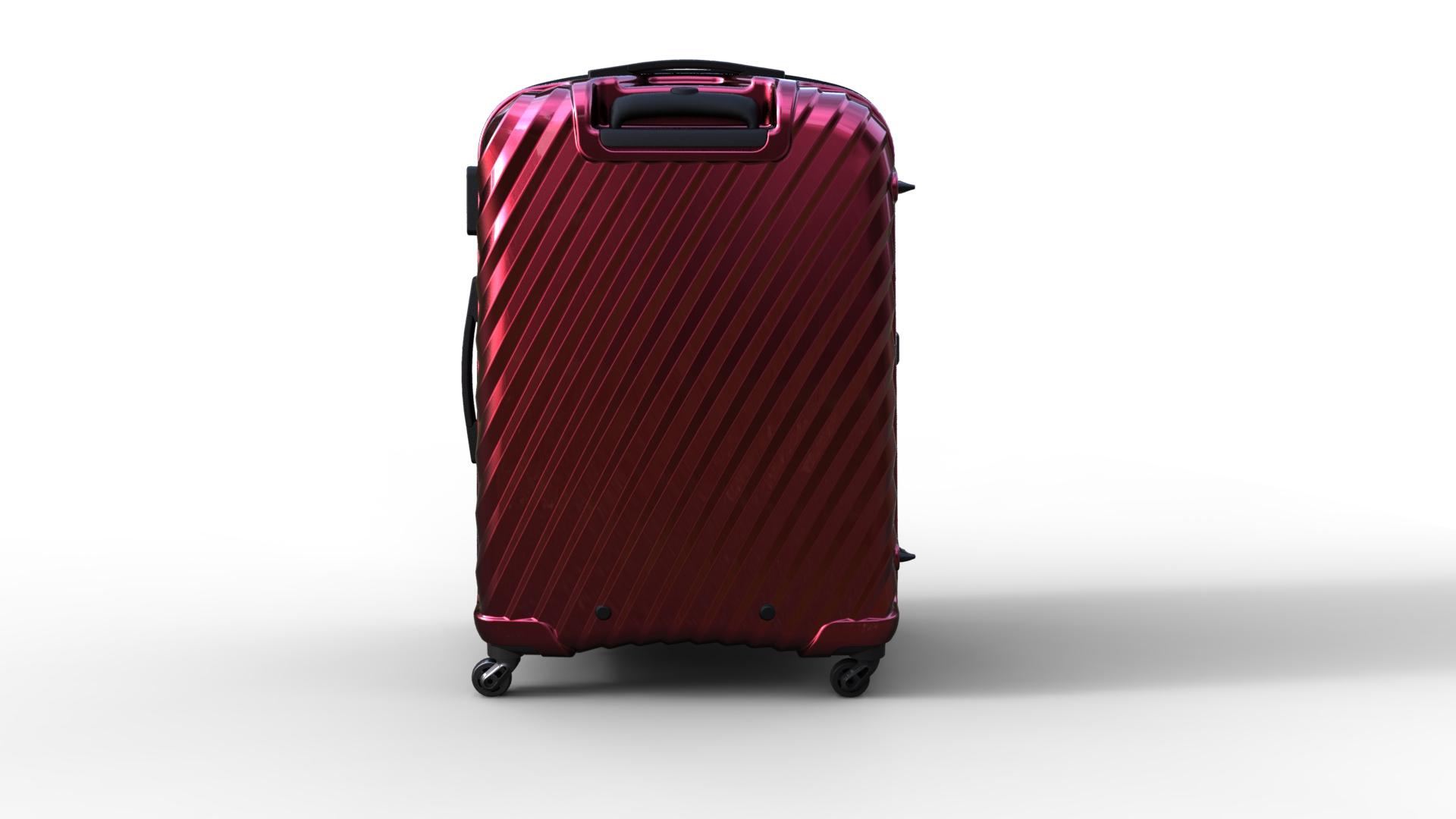 trolley suitcase bag 03 3d model max fbx ma mb obj 286000