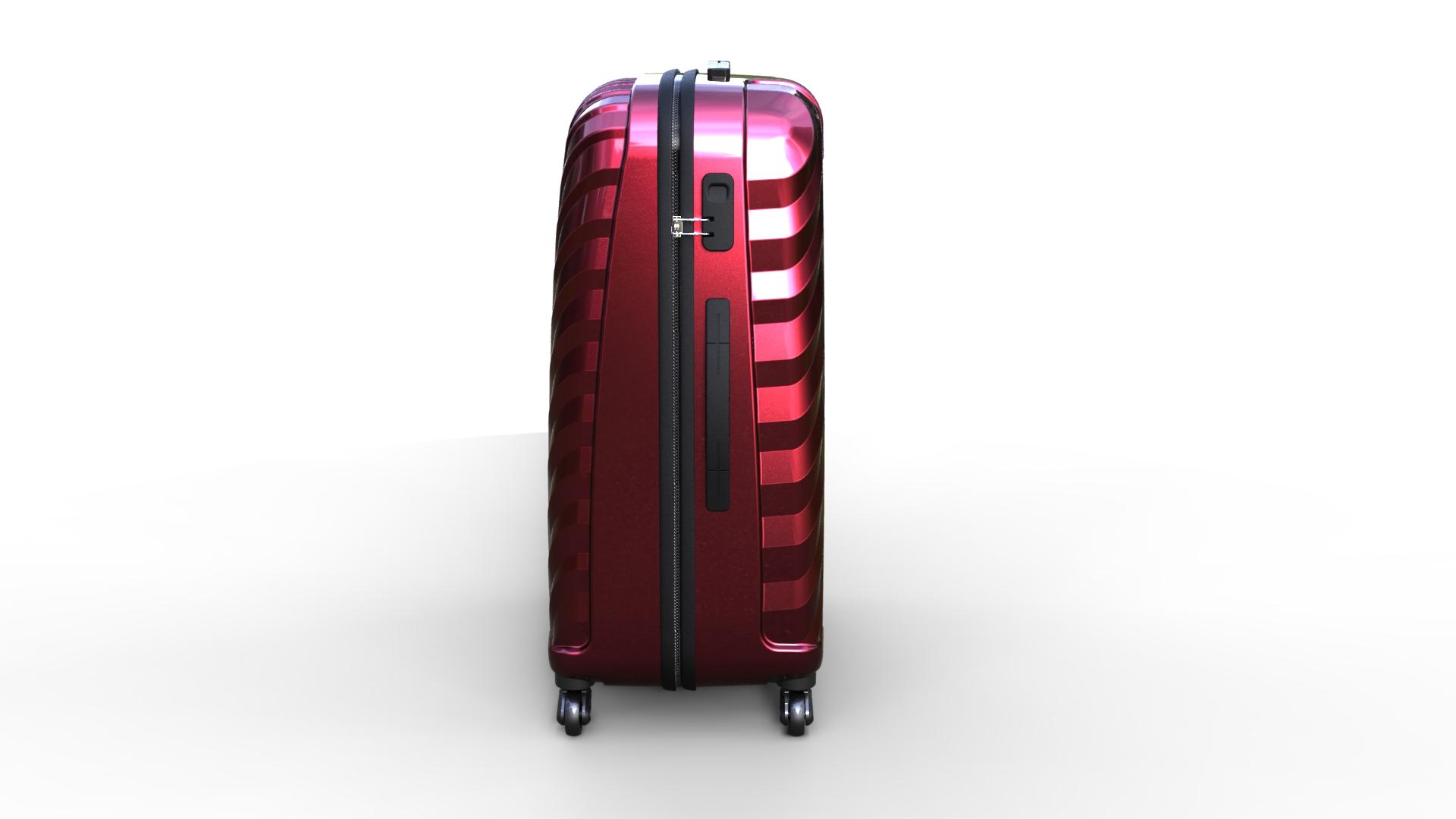 trolley suitcase bag 03 3d model max fbx ma mb obj 286001