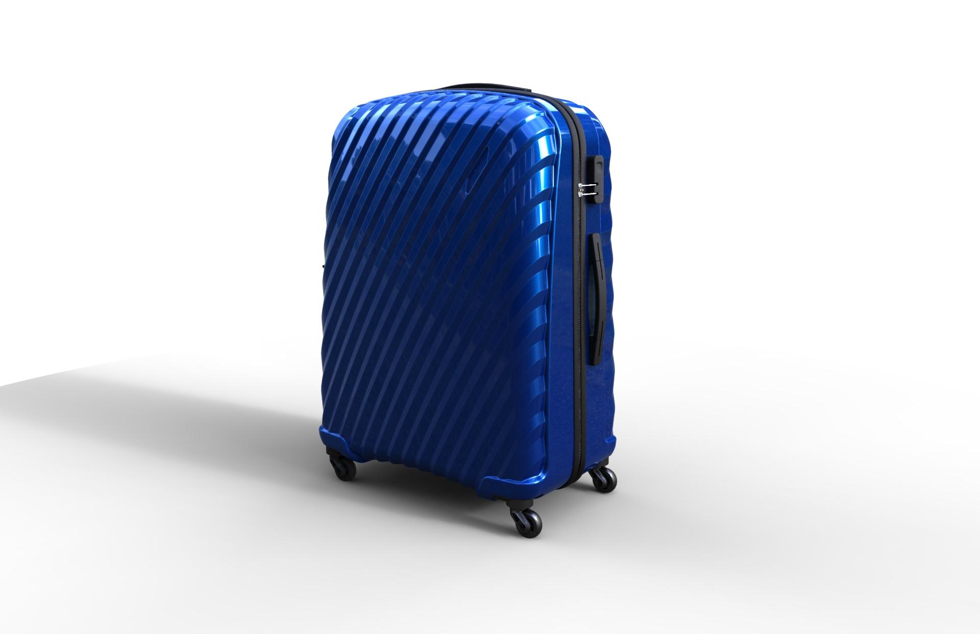 trolley suitcase bag 03 3d model max fbx ma mb obj 286003