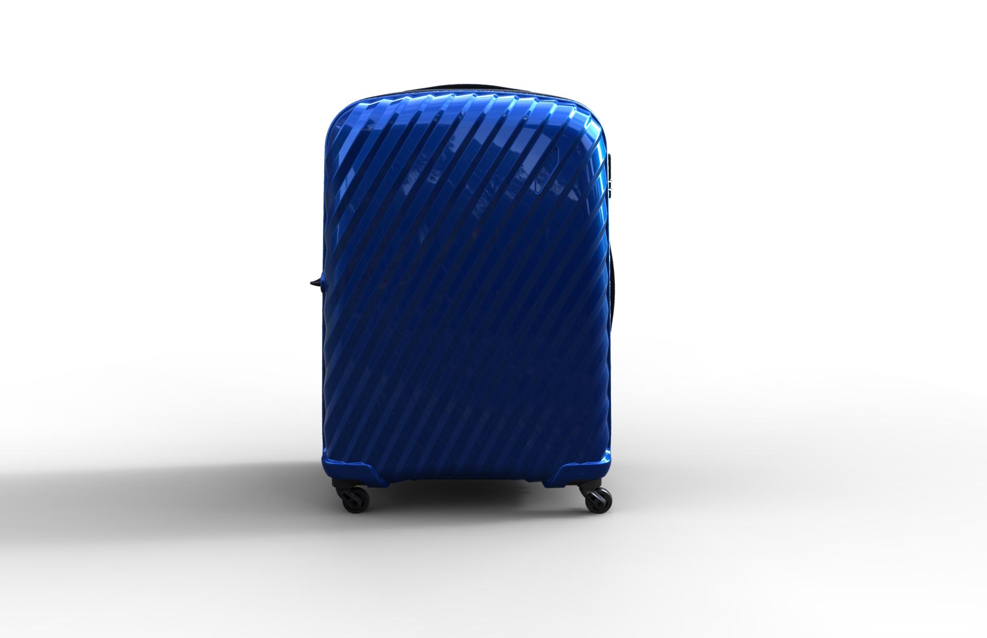 trolley suitcase bag 03 3d model max fbx ma mb obj 286004