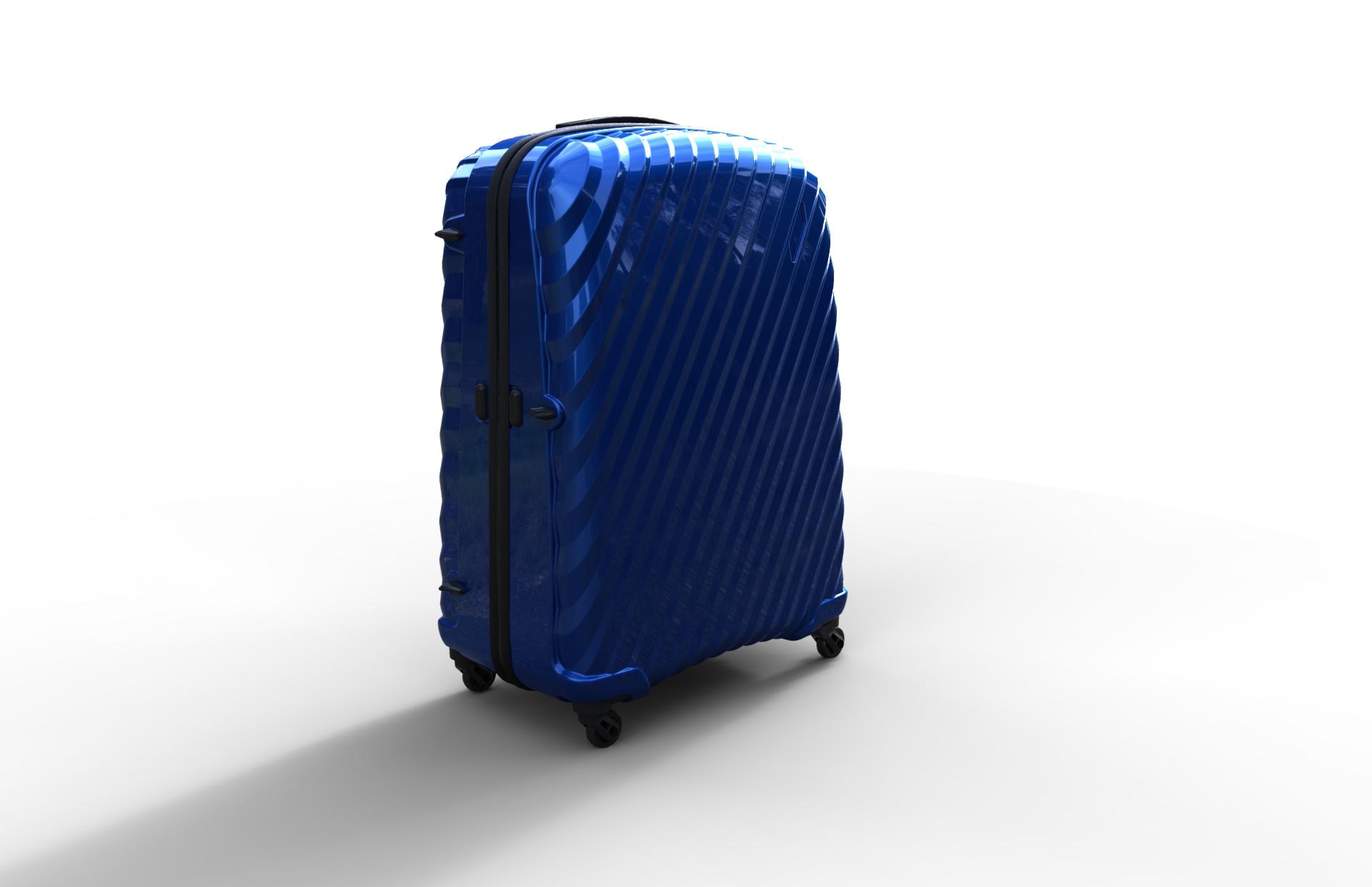 trolley suitcase bag 03 3d model max fbx ma mb obj 286005