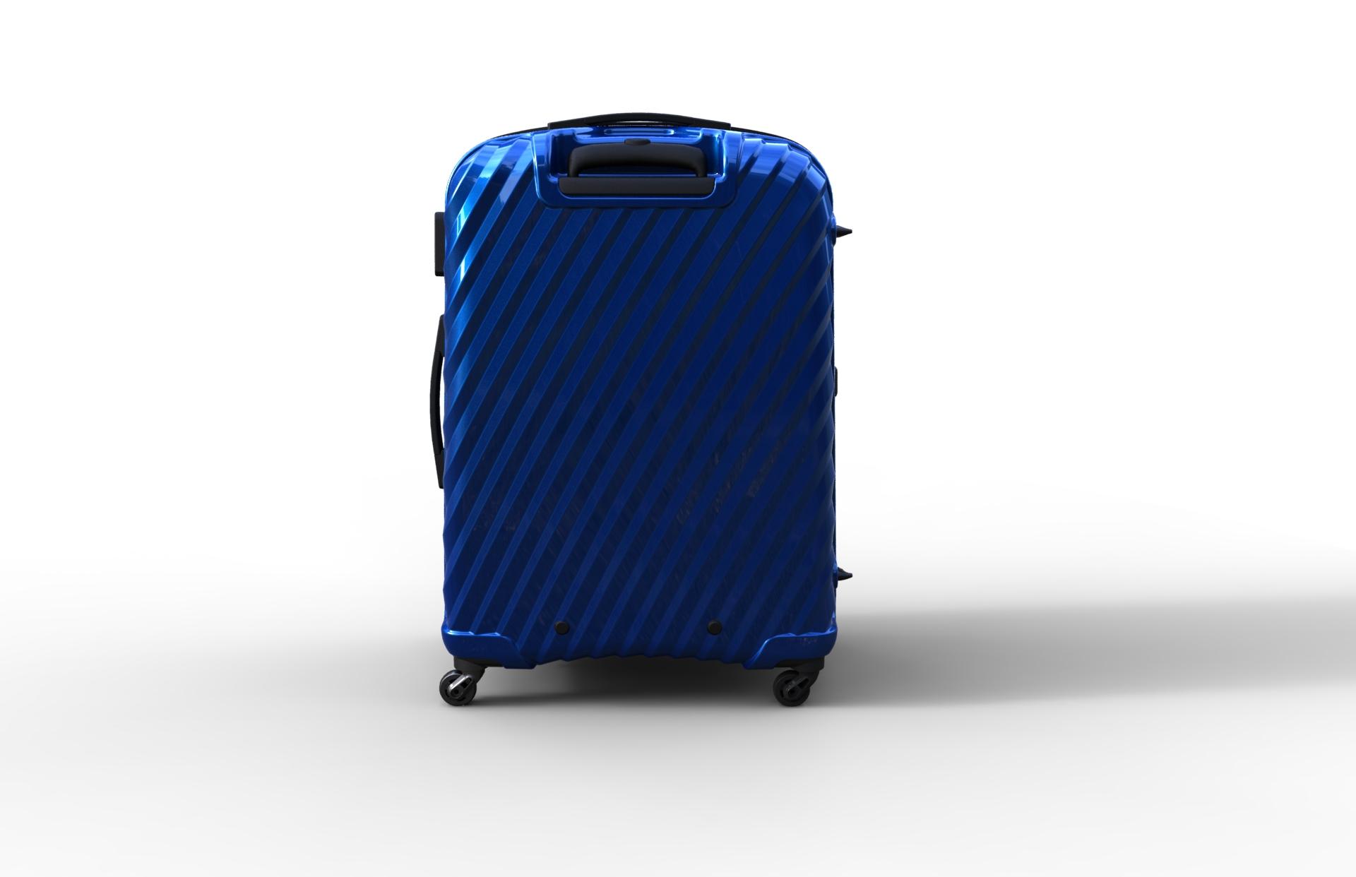 trolley suitcase bag 03 3d model max fbx ma mb obj 286007