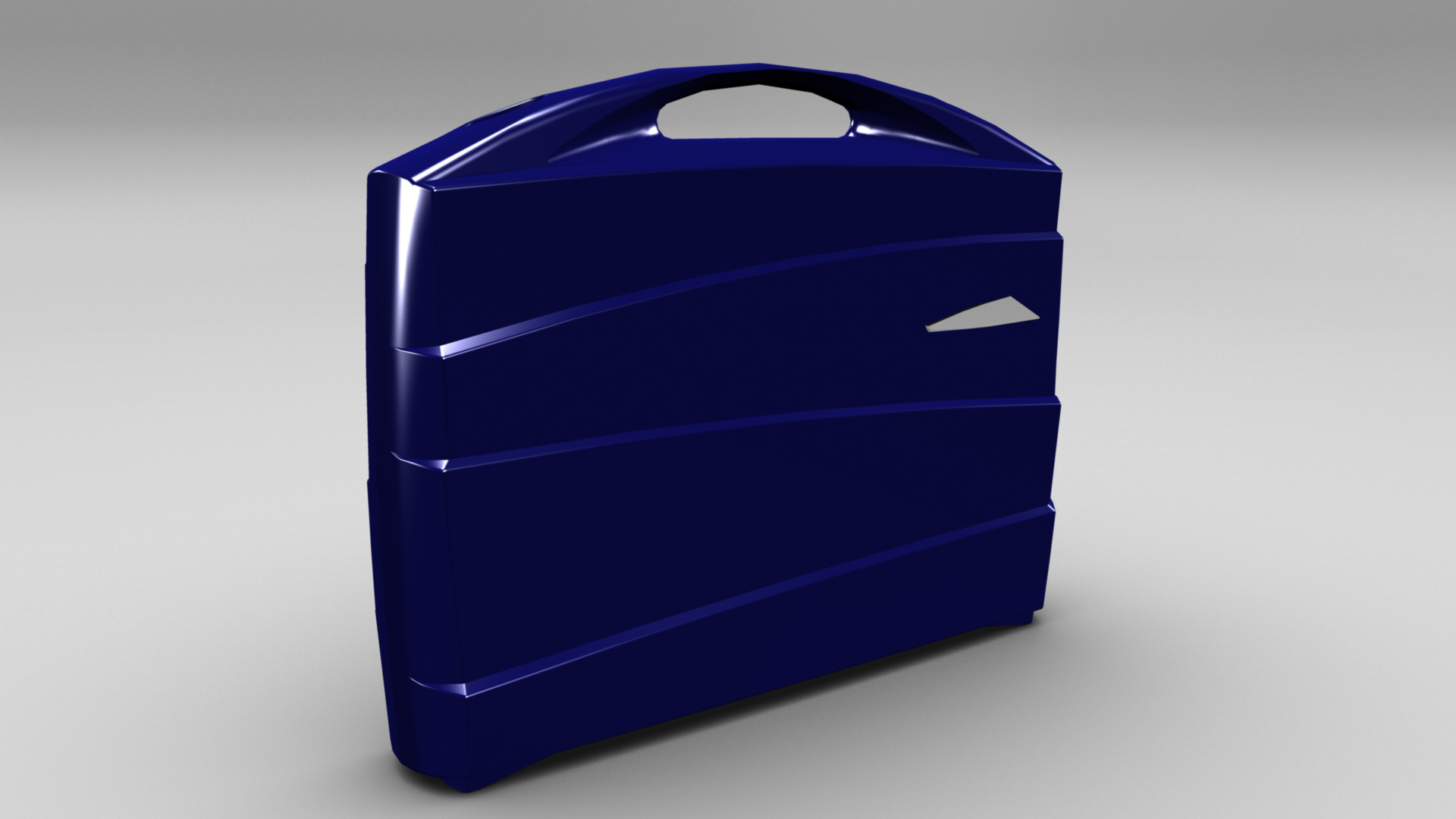 metal suitcase 3d model max fbx ma mb obj 286021