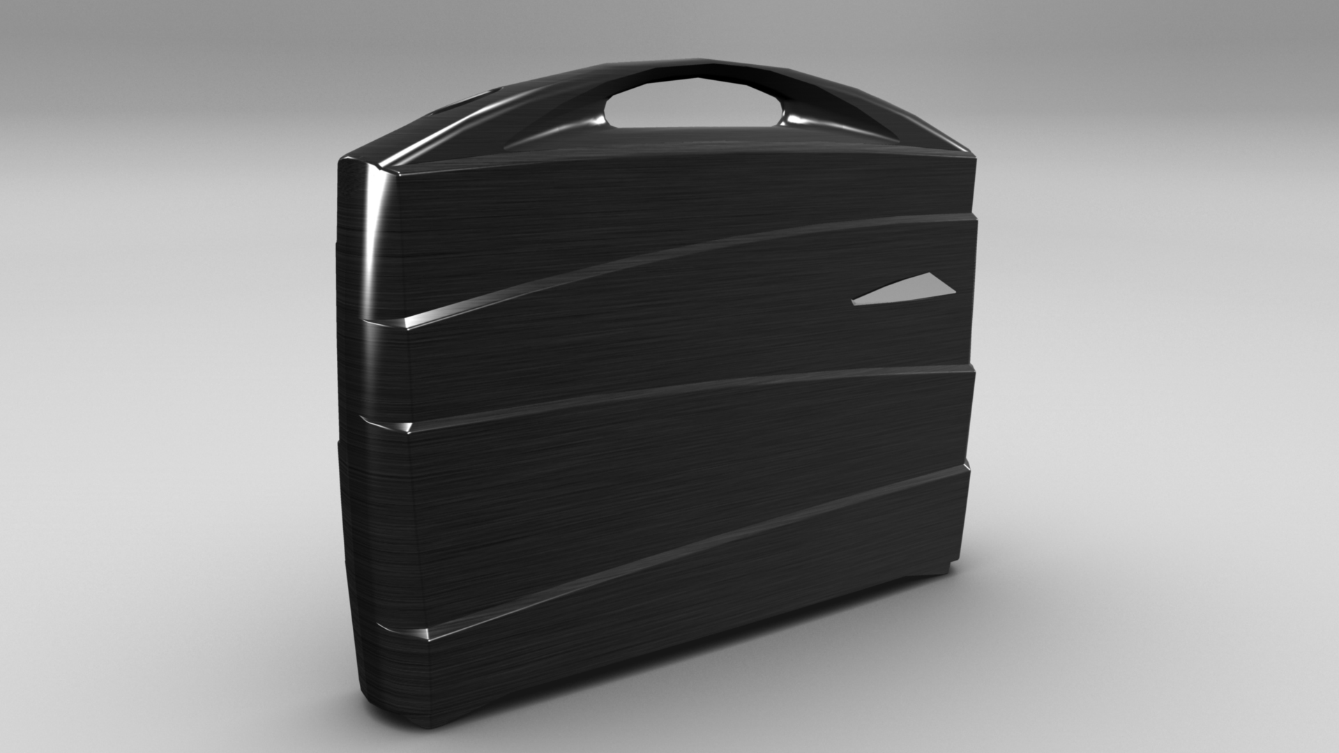 metal suitcase 3d model max fbx ma mb obj 286024
