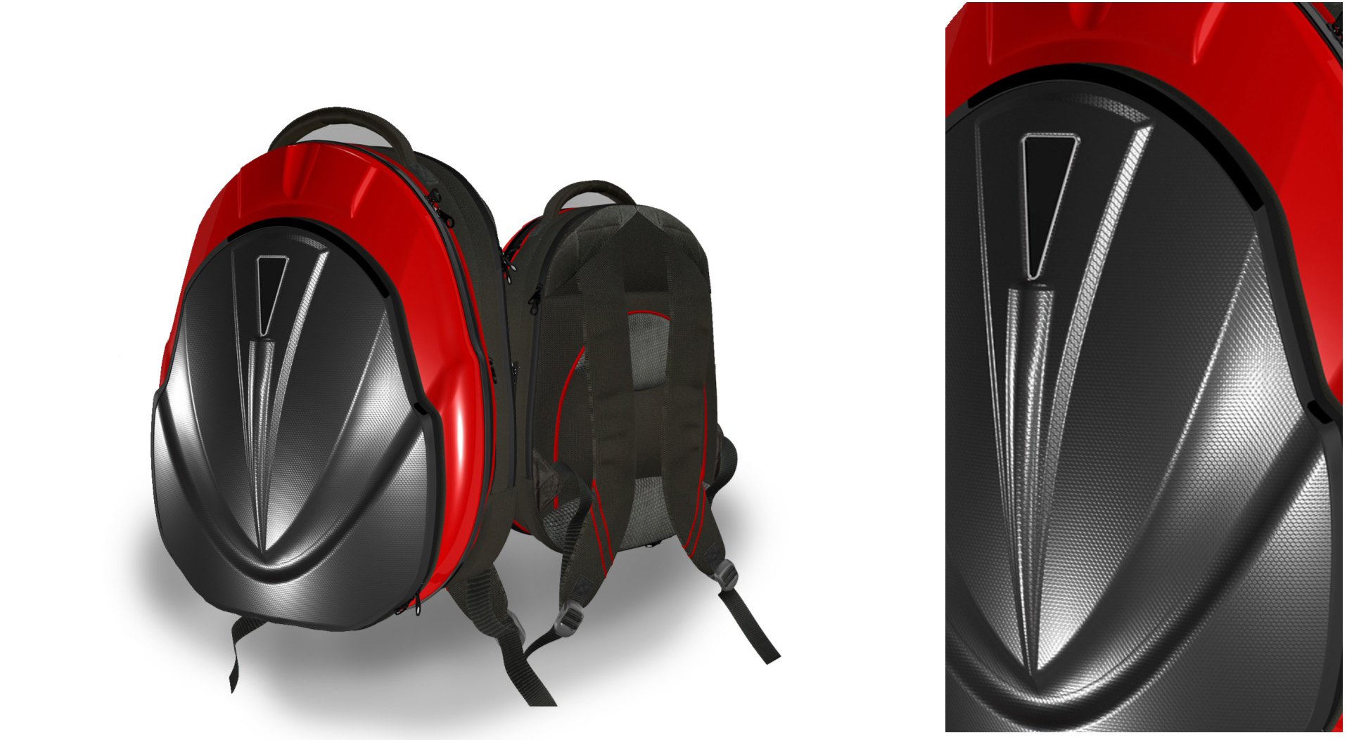ransel 01 3d model maks fbx ma mb obj 286035