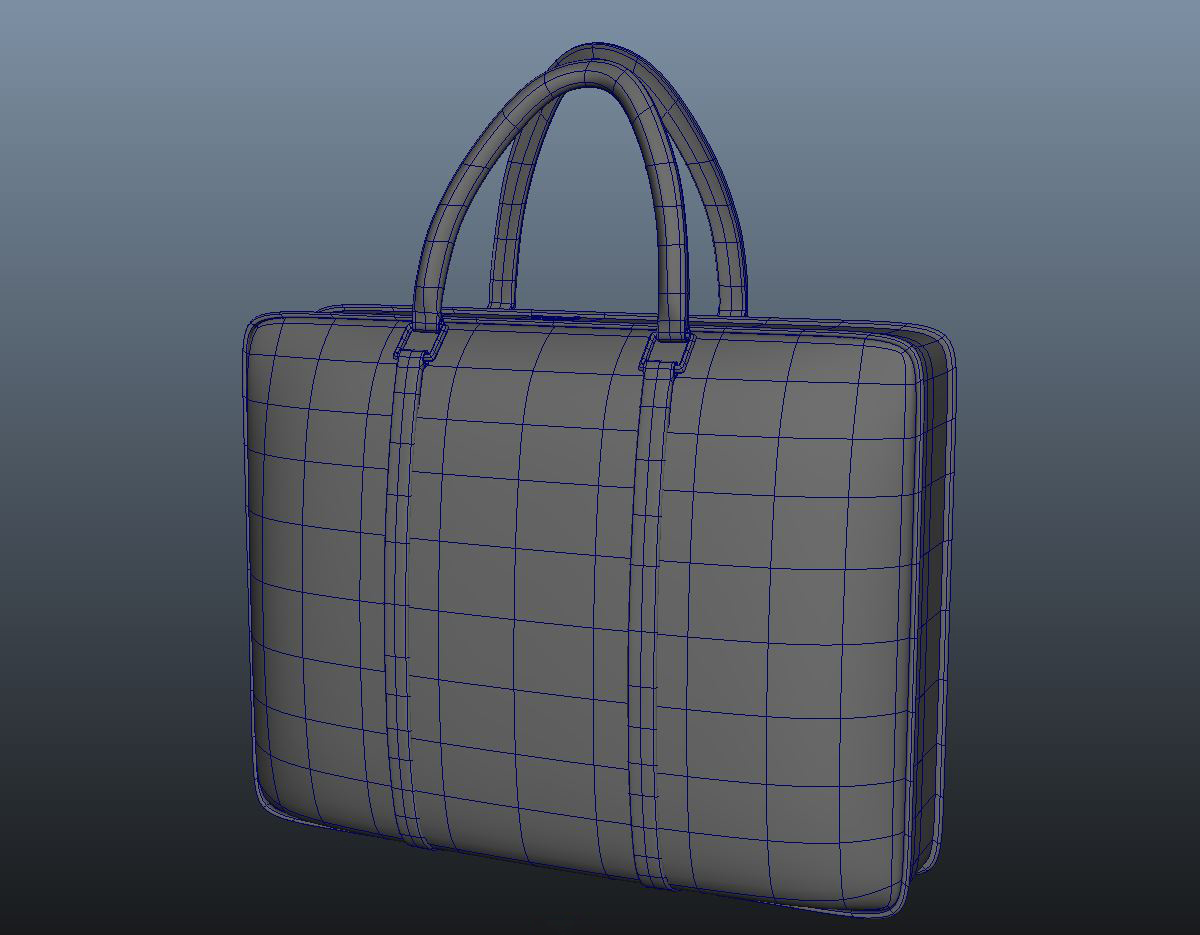 ladies handbag 3d model max fbx ma mb obj 286062