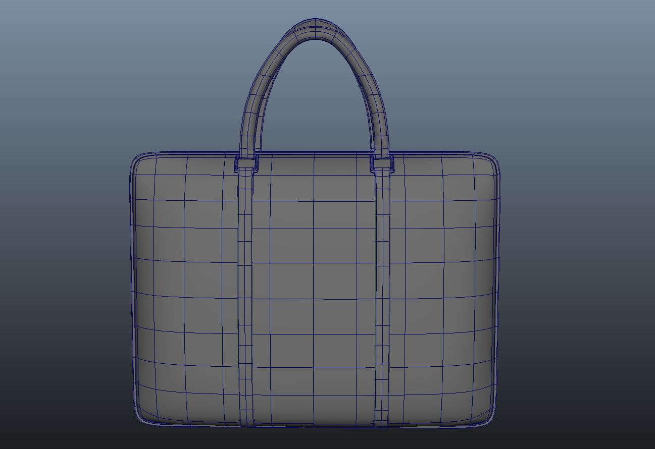 ladies handbag 3d model max fbx ma mb obj 286063