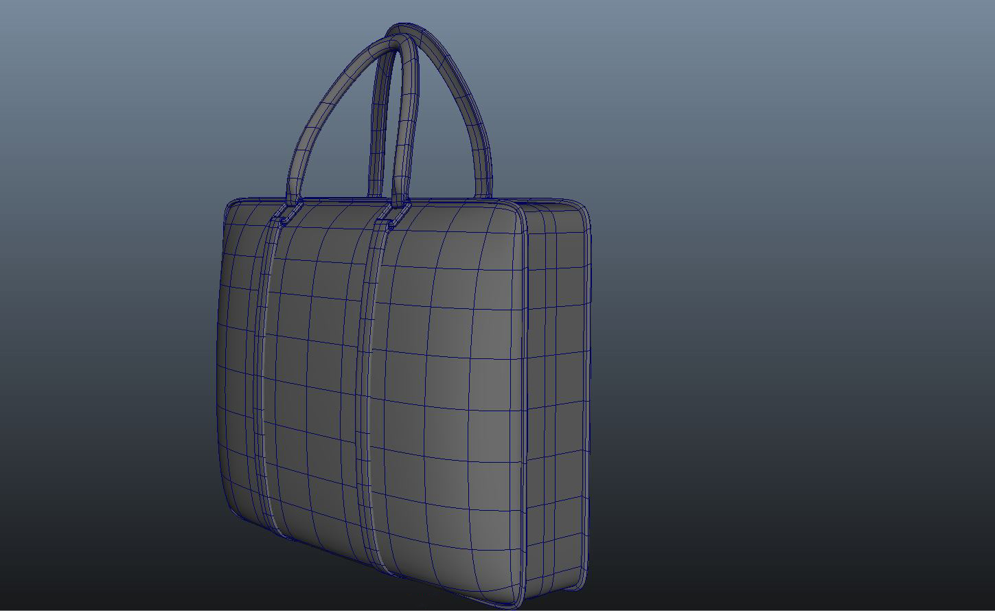 ladies handbag 3d model max fbx ma mb obj 286064