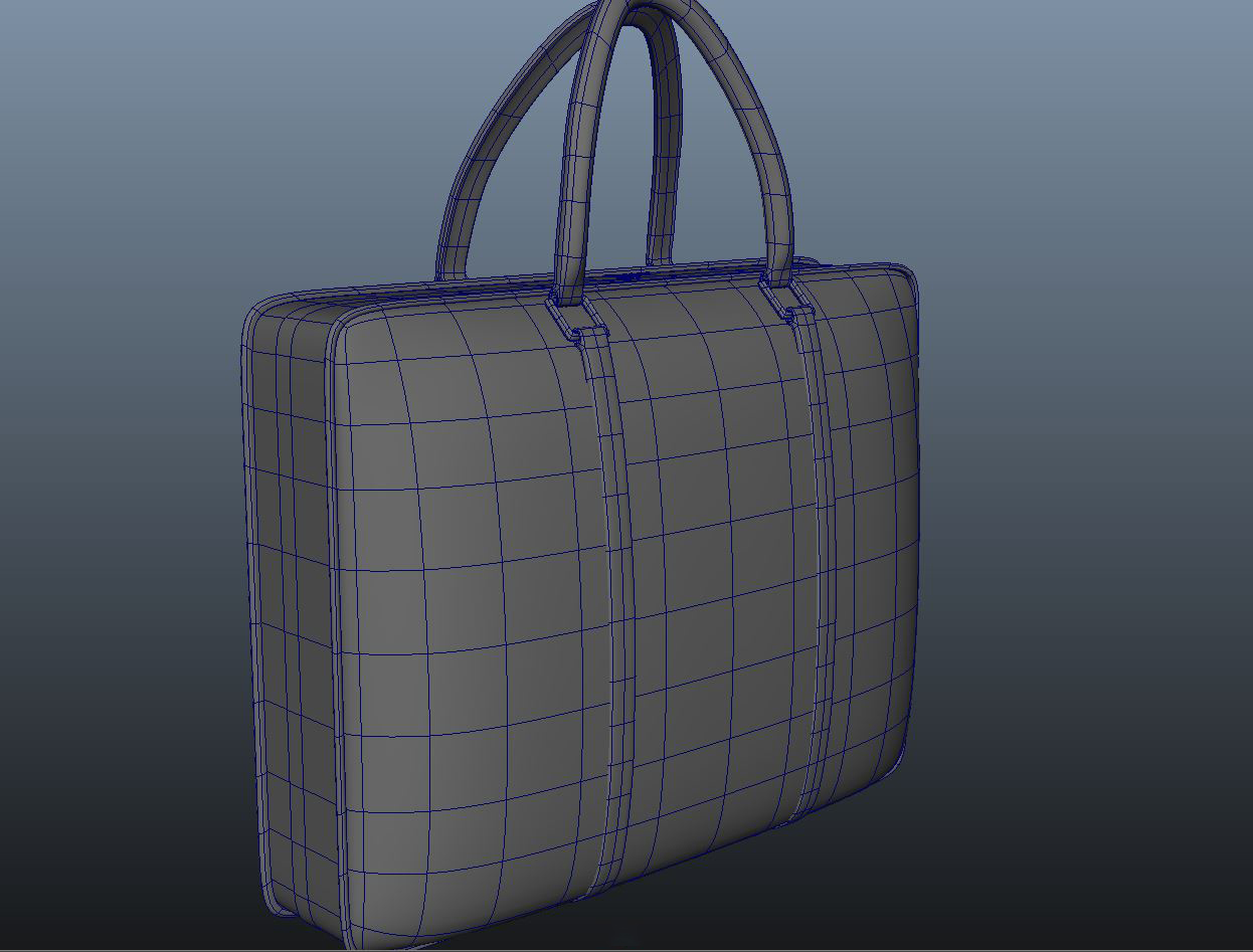 ladies handbag 3d model max fbx ma mb obj 286065