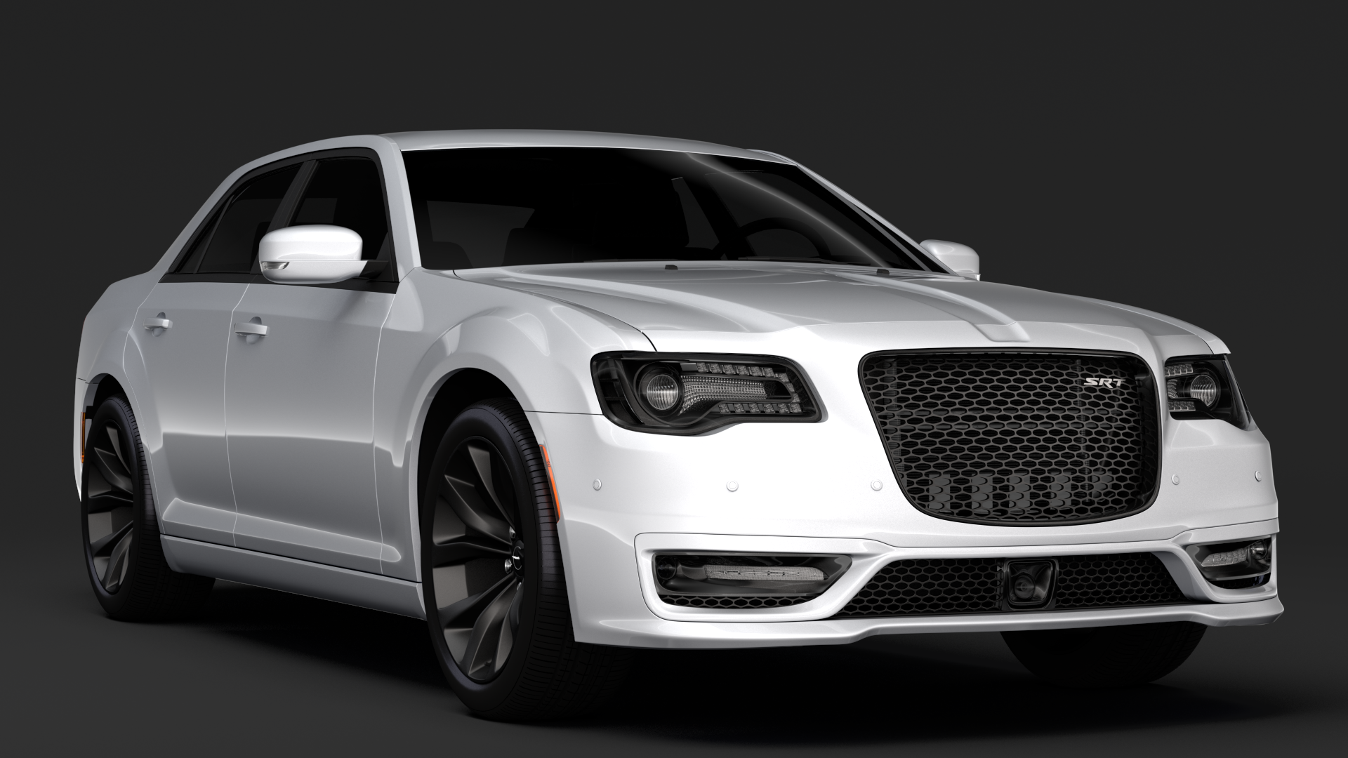 chrysler 300 srt lx2 2018 3d model 3ds max fbx c4d lwo ma mb hrc xsi obj 286092