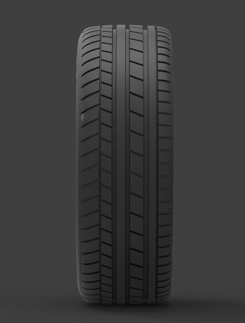 mercedes e 350 d alloy wheel 3d model max fbx ma mb obj 286191