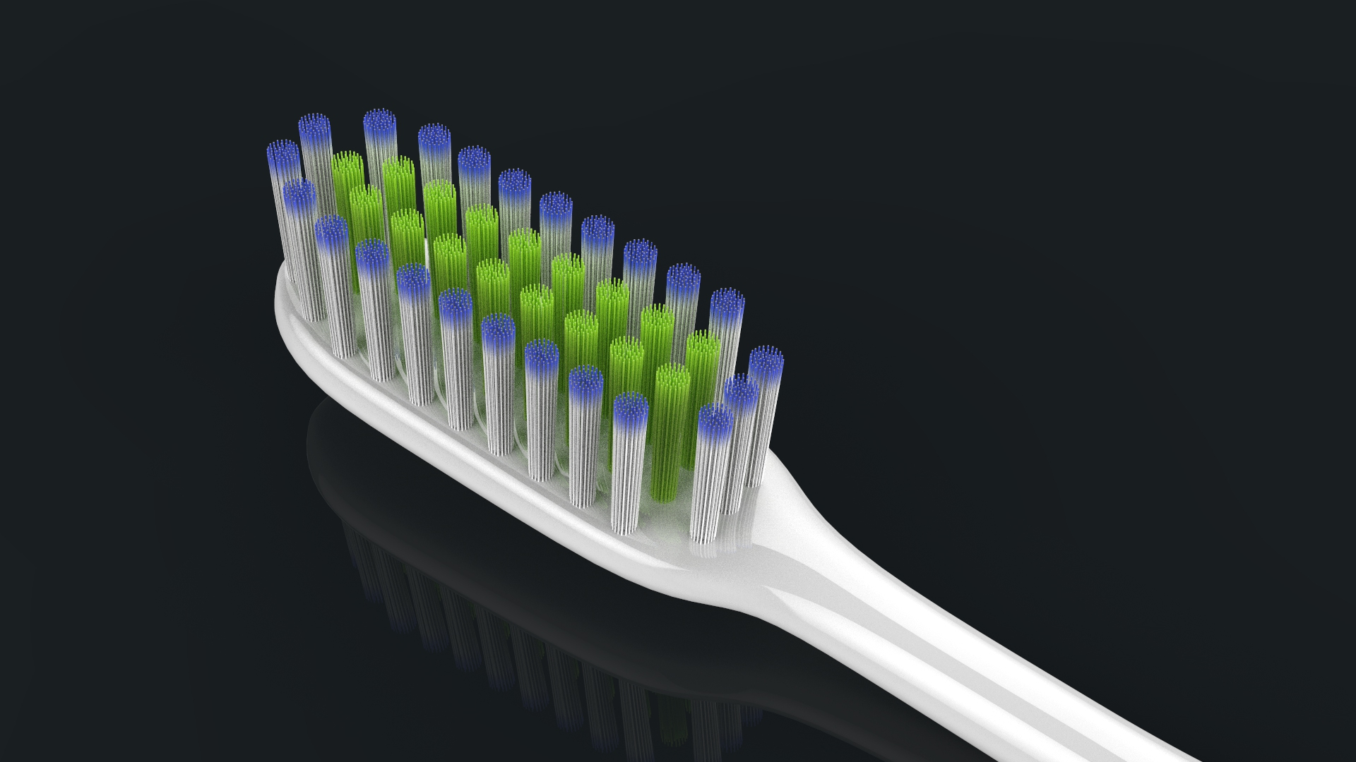 toothbrush with toothpaste 3d model max fbx ma mb obj 286205
