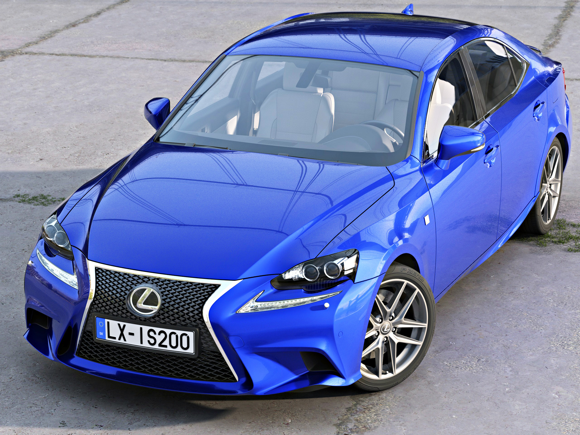 Lexus er f-sport 2016 3d líkan 3ds max fbx c4d obj 288094