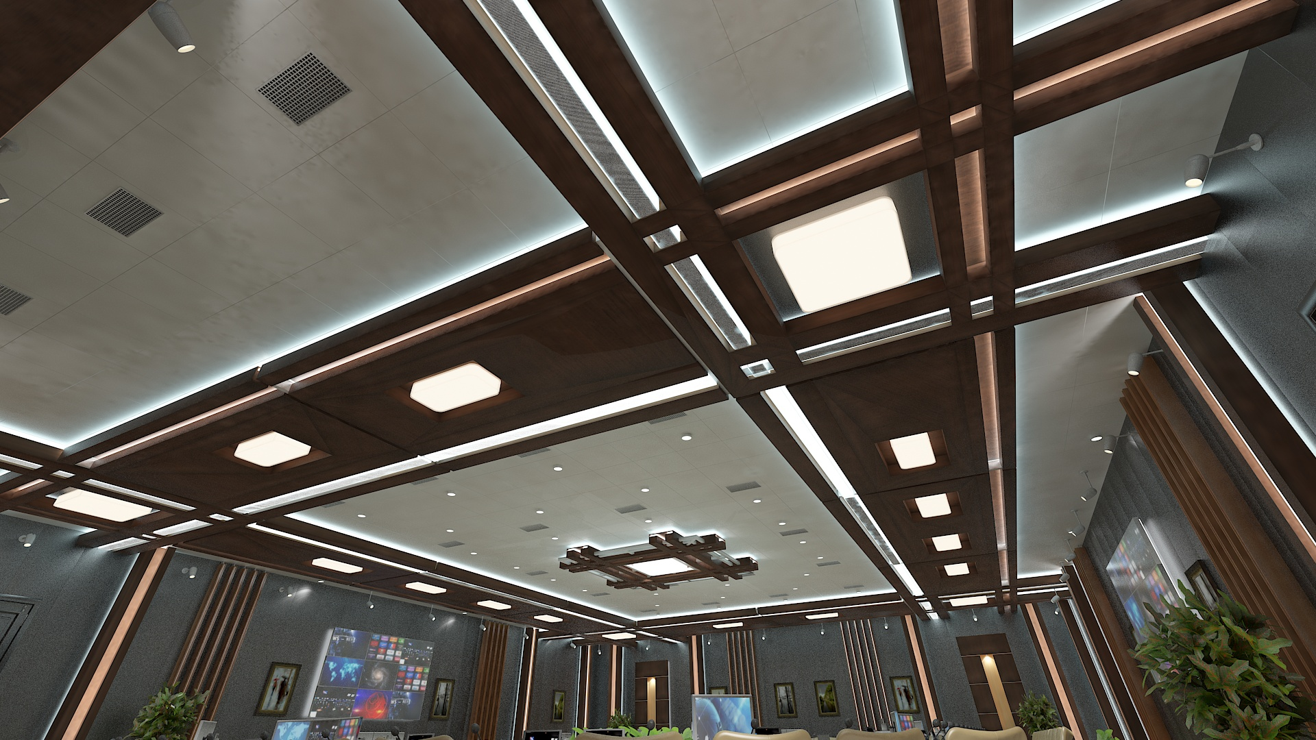 meeting room 1 3d model 3ds max dxf dwg 288124