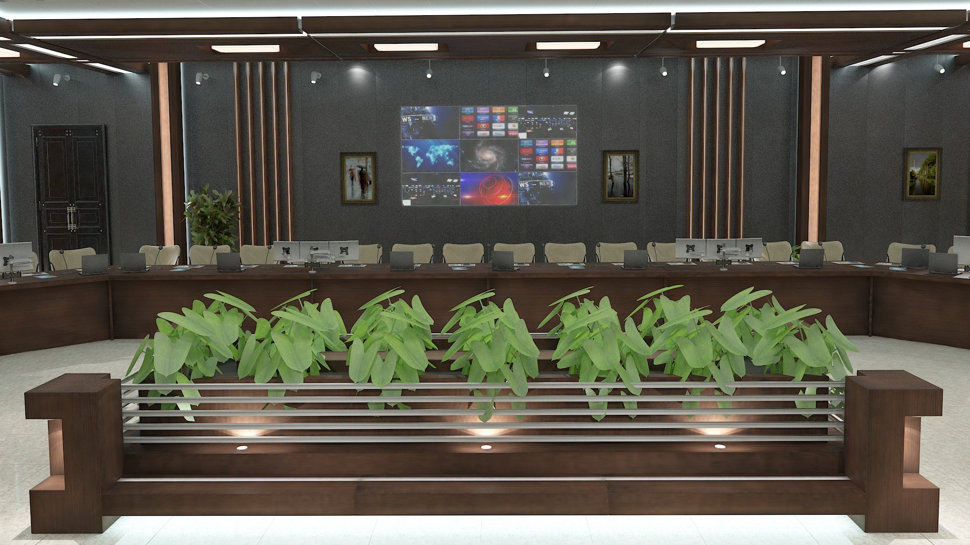 meeting room 1 3d model 3ds max dxf dwg 288130