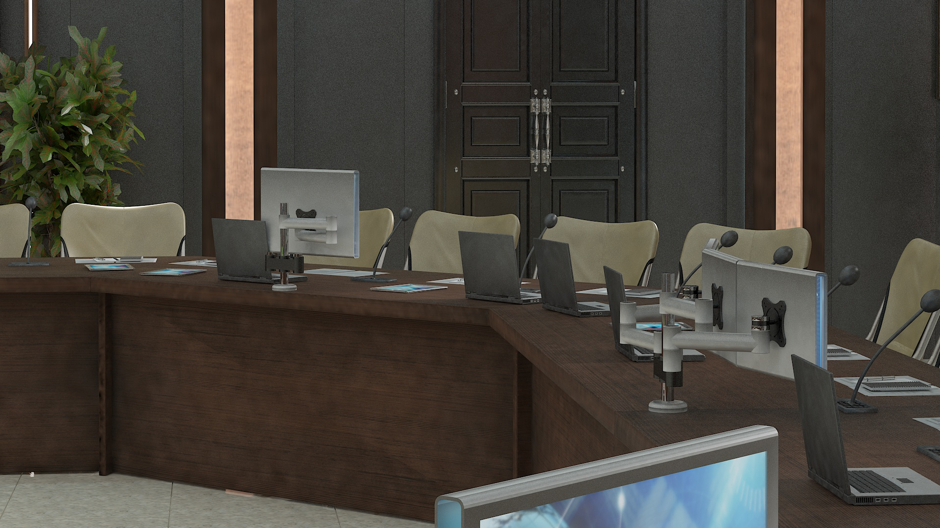 meeting room 1 3d model 3ds max dxf dwg 288139