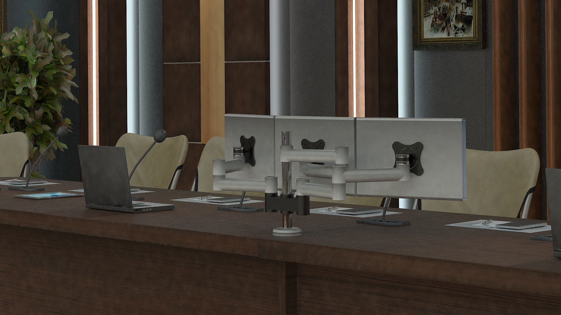 meeting room 1 3d model 3ds max dxf dwg 288142